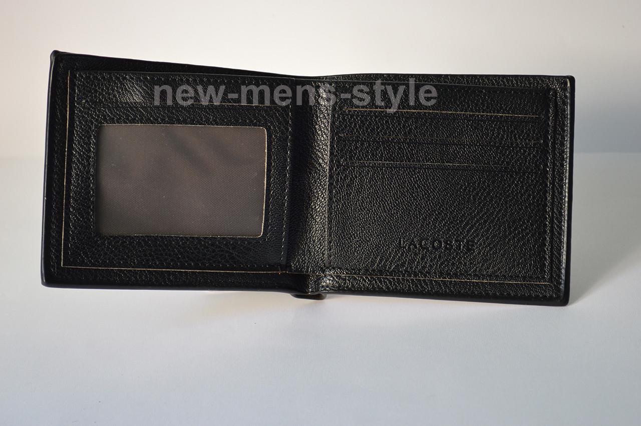 ... Мужской брендовый кожаный кошелек портмоне LACOSTE CROCODILE, ... 323c3e59786