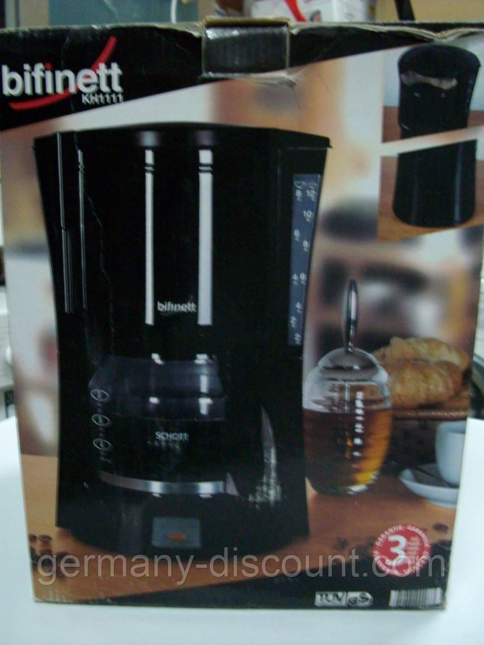 Кофеварка капельная Bifinett (Германия)
