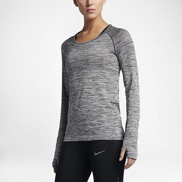 Женская футболка NIKE DF KNIT TOP LS (Артикул: 831500-010)