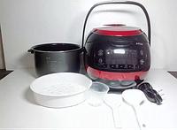Мультиварка с тефлоновой чашей А-Плюс 1469, электронное управление, 860 Вт, 66 программ, объем 5 л