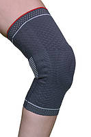 Бандаж для коленного сустава 3D вязка(с силиконовым кольцом и спиральными металлическими ребрами жесткости) Armor ARK9103 размер L