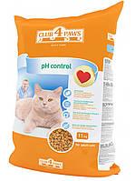Сухой корм для кошек Клуб 4 Лапы PH Control Профилактика Мочекаменной Болезни 11 кг