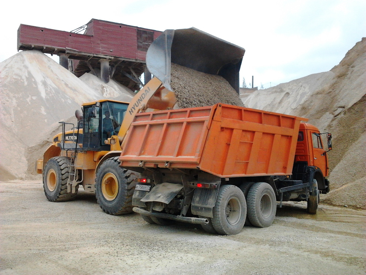 Перевозка сыпучих материалов в Кропивницком и области