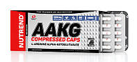 AAKG Compressed Caps Nutrend, 120 капсул