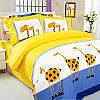 Семейное постельное белье ТЕП Жирафы
