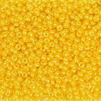 Бисер Preciosa Чехия №17386 1г, желтый темный перламутровый