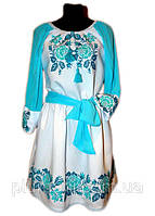 """Жіноче вишите плаття """"Нейті"""" (Женское вышитое платье """"Нейти"""") PK-0010"""