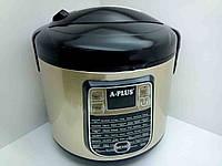 Мультиварка А-Плюс MC-1468, тефлоновая чаша объемом 5 л, электронное управление, 700 Вт, 45 программ