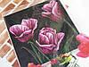 Набор для вышивания крестиком Фиолетовые тюльпаны
