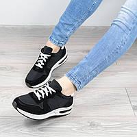 Кроссовки женские Skeety черные, спортивная обувь
