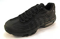 Кроссовки мужские RAZOR  сетка, черные (версия AIR MAX 95)(р.40,41,42,43,44,45)