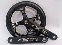 Шатуны Prowheel TEN-751, 36/48T*170mm, с защитой цепи
