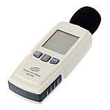 Цифровой шумомер Benetech GM1352 ( измеритель уровня шума ) ( 30 — 130 dB), фото 2