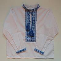 Вышиванка для мальчика (ручная вышивка), рост 86-92 см