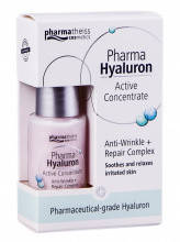 PHARMA HYALURON Сыворотка Активный гиалурон концентрат против морщин+восстановление