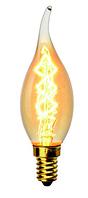 Ретро-лампа VITO свеча на ветру C35Т E14 40W