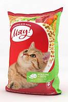 Мяу!- сухой корм для котов,11 кг (МЯСО+РИС+ОВОЩИ)