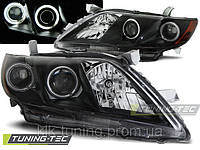 Передние фары на Toyota camry 06 -09 (LPTO10)