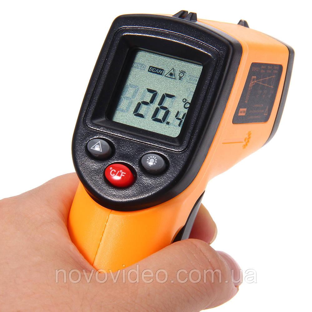 Инфракрасный цифровой термометр UT-380 от -50 до +380 грд