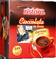 Густой горячий шоколад Ristora порционный 50 шт