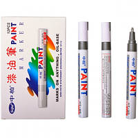 Лак маркер серебряный перманентный Paint маркер краска