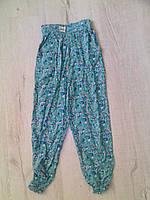 Детские летние брюки султанки для девочки 11130