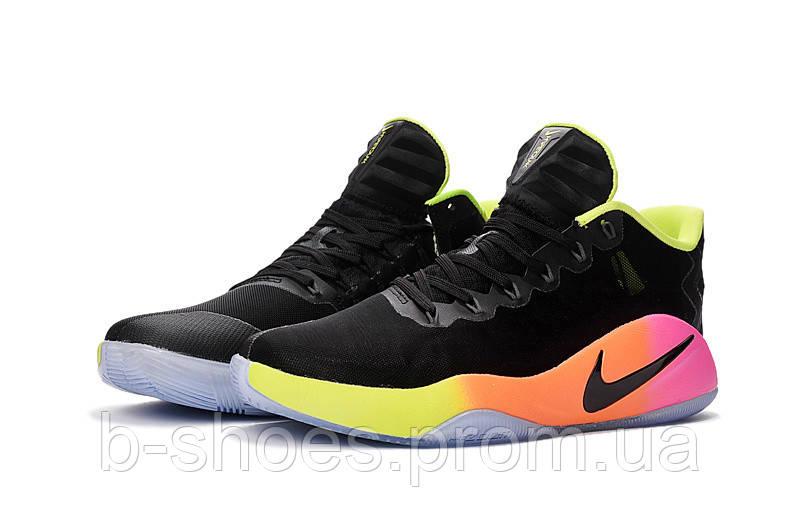 Мужские баскетбольные кросовки Nike Hyperdunk 2016 Low (Black/Pink)