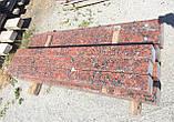 Тротуарный бордюр из красного гранита, фото 2
