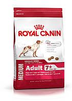 Корм для собак средних пород старше 7 лет 4 кг. Royal Canin (Роял Канин) Medium Adult 7+