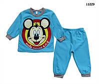 Утепленный костюм Mickey Mouse для мальчика. 3-6 мес