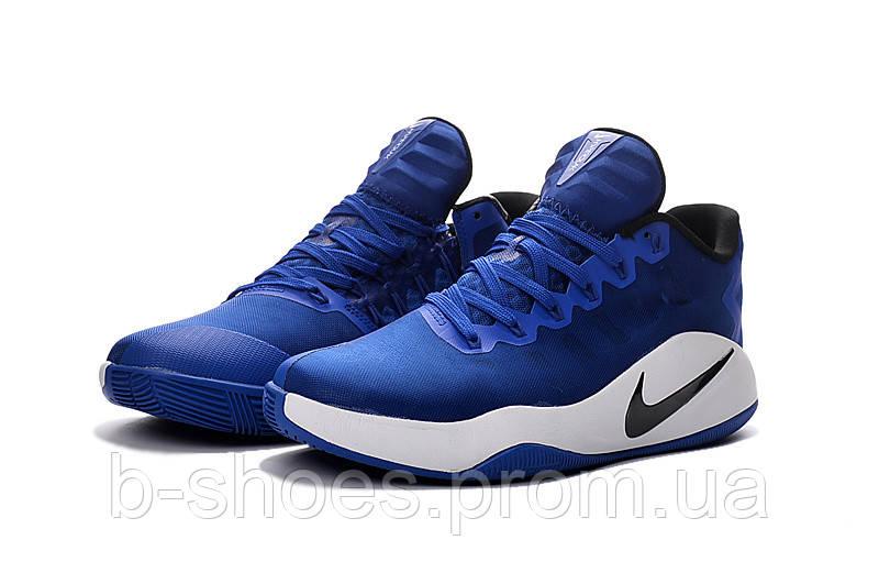 Мужские баскетбольные кросовки Nike Hyperdunk 2016 Low (Blue/White)