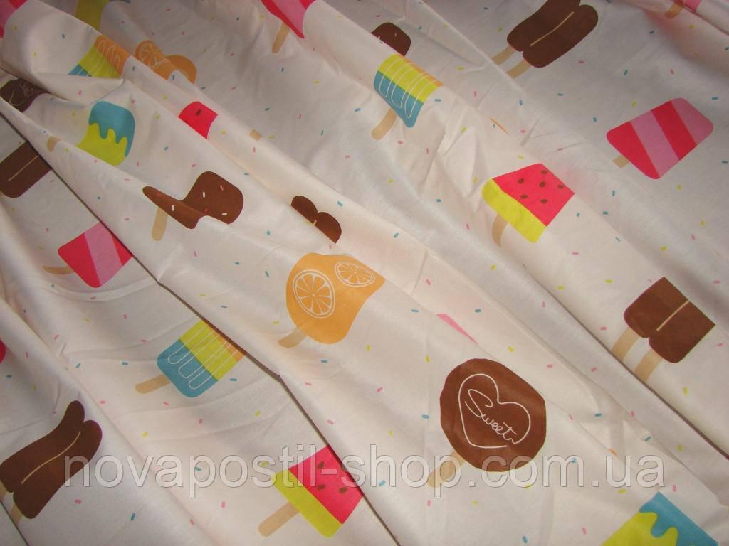 Детское постельное белье из сатина Эскимо