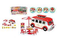 Игровой набор Автомагазин с набором для продажи фаст-фуда Pin Ming Toys 2015-3