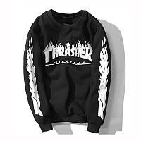 Свитшот Thrasher в черно-белом цвете