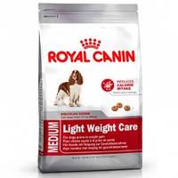 Корм для собак средних пород с избыточным весом 3кг. Royal Canin (Роял Канин) Medium Light Weight Care