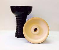 Чаша для кальяна SG Alien Form 1 в чёрной глазуре