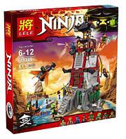 Конструктор Ninjago Осада Маяка 811 дет LELE 79346 (аналог Lego 70594)