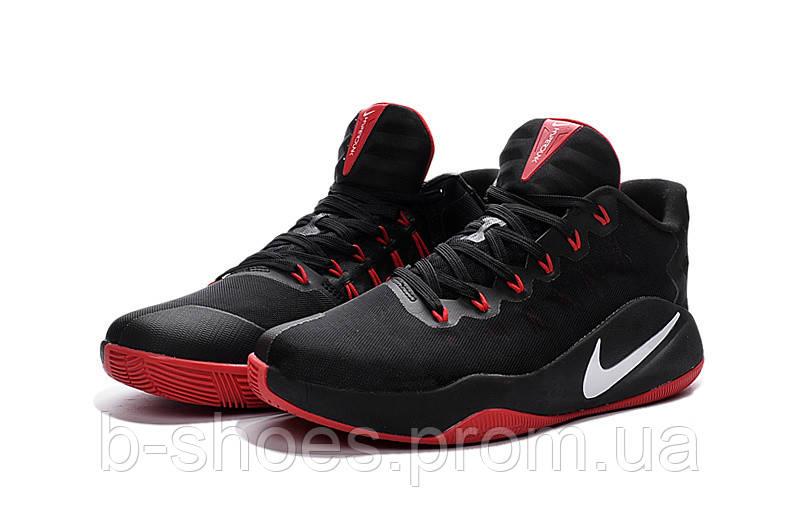 Мужские баскетбольные кросовки Nike Hyperdunk 2016 Low (Black/Red)