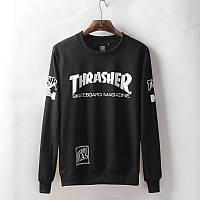 Свитшот Thrasher черно-белый