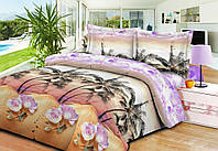 Евро постельное белье 3Д Restline от Теп Микросатин Намиби
