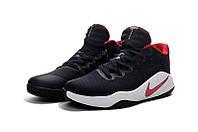 Мужские баскетбольные кросовки Nike Hyperdunk 2016 Low (Black/Red/White)