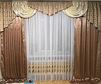 Набор шторы и ламбрекен Эвелина
