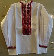 Вышиванка для мальчика (ручная вышивка), рост 110-122 см