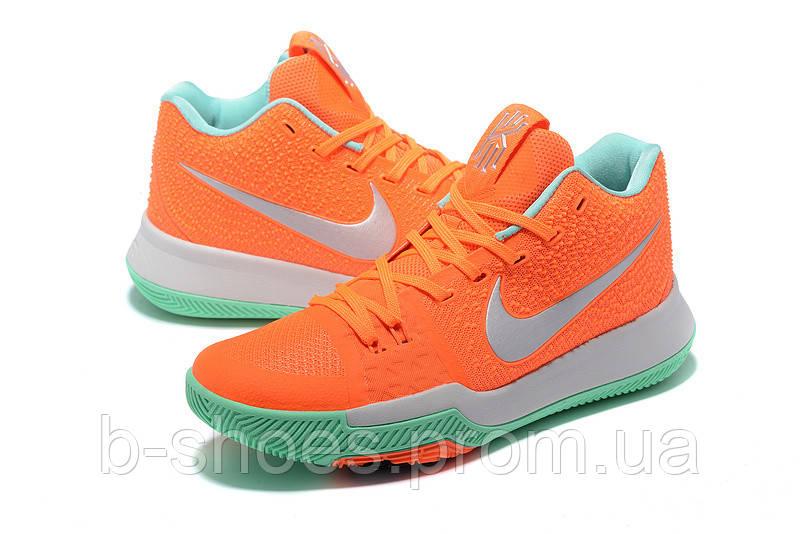 Мужские баскетбольные кроссовки Nike Kyrie 3 (Peach/Mint)