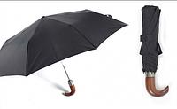 Зонт мужской Zest  автомат 3-сложения. с деревянной ручкой. art.43640
