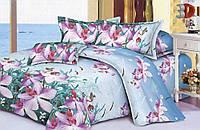 Евро постельное белье 3Д Restline от Теп Микросатин Дикая орхидея