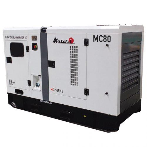Дизельный генератор Matari MC80 (88 кВт)