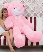 Медведь плюшевый розовый 180 см