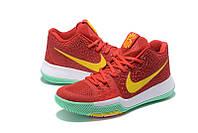 Мужские баскетбольные кроссовки Nike Kyrie 3 (Red/Yellow/Mint), фото 1