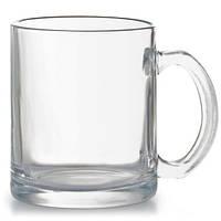 Чашка стеклянная глянцевая на 340мл
